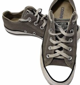 Converse Grey Low Tops Size 6